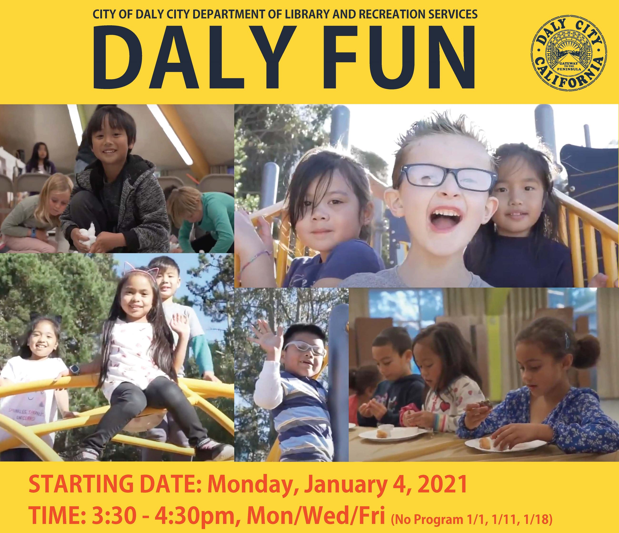 Daly Fun Flyer for January