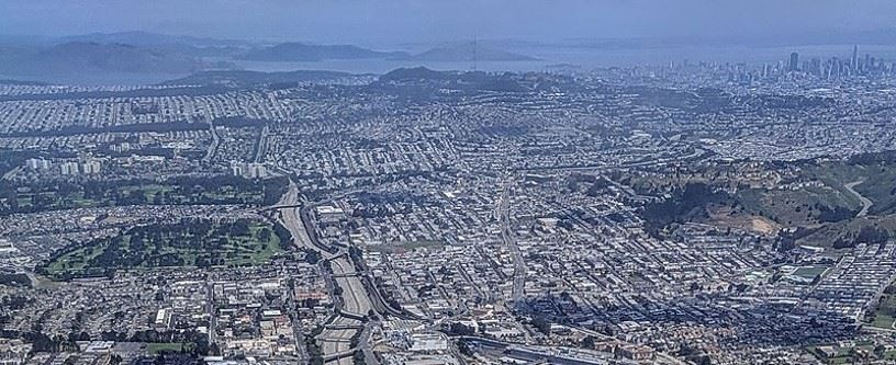 Daly City Aerial View